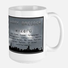 Harry Dresden Business Card Mugs