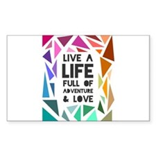 adventure&love Decal