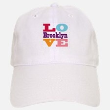 I Love Brooklyn Baseball Baseball Cap