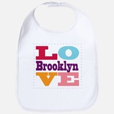 I Love Brooklyn Bib