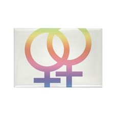 Love is Love NOT Gender Rectangle Magnet