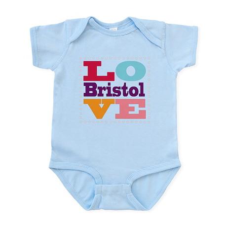 I Love Bristol Infant Bodysuit