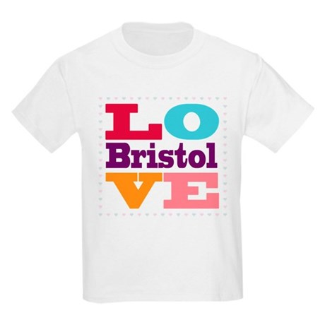 I Love Bristol Kids Light T-Shirt