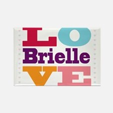 I Love Brielle Rectangle Magnet