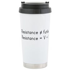 Resistance isnt futile Travel Mug
