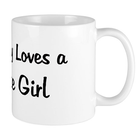 Remote Girl Mug