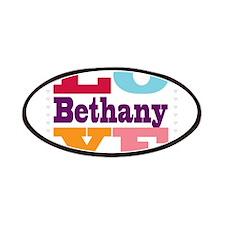 I Love Bethany Patches