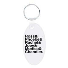 Friends Name List Keychains