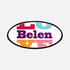 I Love Belen Patches