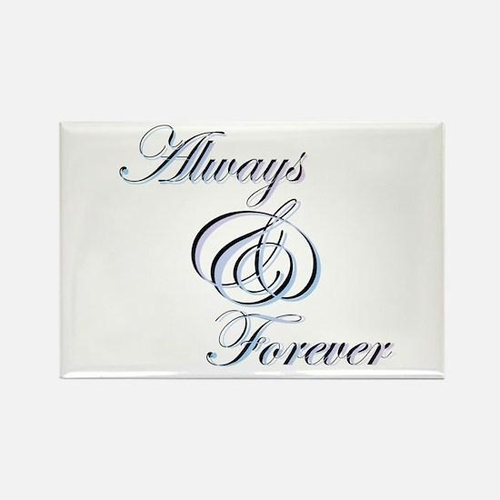 Always & Forever Rectangle Magnet (100 pack)