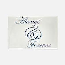 Always & Forever Rectangle Magnet