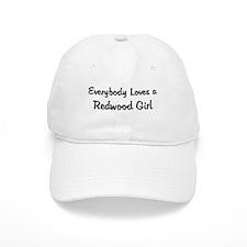 Redwood Girl Baseball Cap
