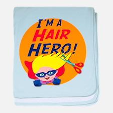 Im a Hair Hero baby blanket