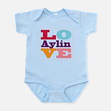 I Love Aylin Infant Bodysuit