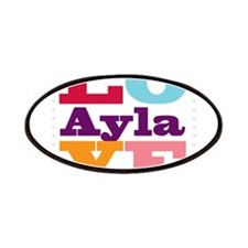 I Love Ayla Patches