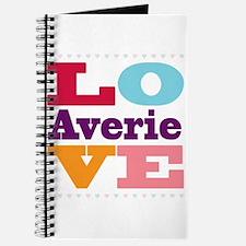 I Love Averie Journal