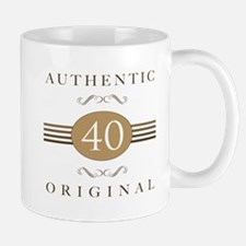 40th Birthday Authentic Mug