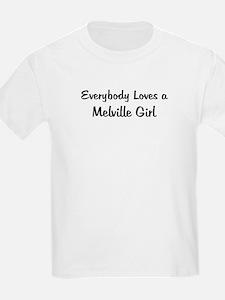 Melville Girl Kids T-Shirt