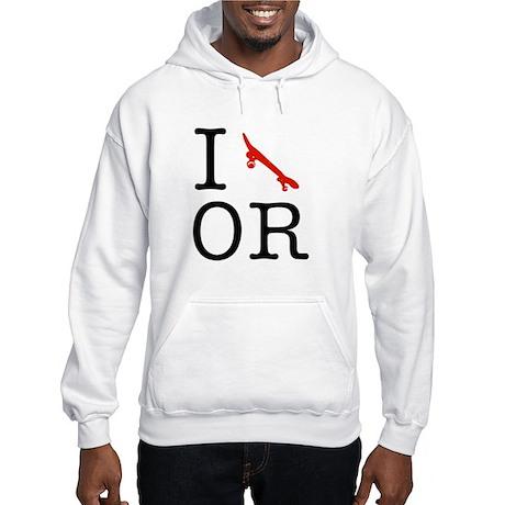 I Skate Oregon Hooded Sweatshirt