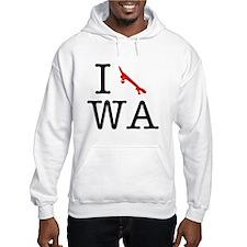 I Skate Washington Hoodie