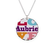 I Love Aubrie Necklace