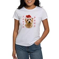 Santa Paws Norfolk Terrier Tee