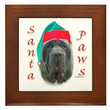 Santa Paws Neo Framed Tile