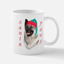 Santa Paws Elkhound Mug