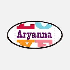 I Love Aryanna Patches