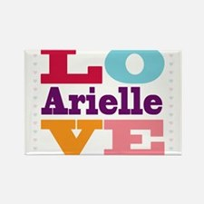 I Love Arielle Rectangle Magnet