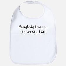 University Girl Bib