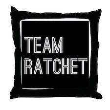 Team Ratchet Throw Pillow