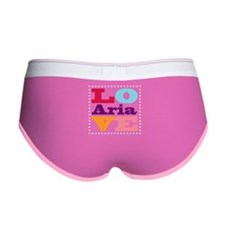I Love Aria Women's Boy Brief