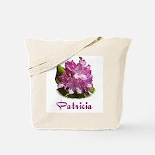 Patricia: Purple Flower Tote Bag
