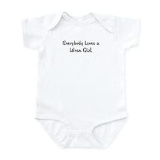 Wren Girl Infant Bodysuit