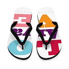 I Love Anya Flip Flops