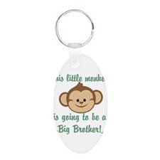 Big Brother To Be Monkey Keychains