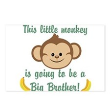 Big Brother To Be Monkey Postcards (Package of 8)