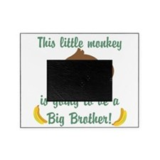 Big Brother To Be Monkey Picture Frame