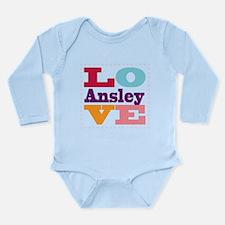 I Love Ansley Onesie Romper Suit