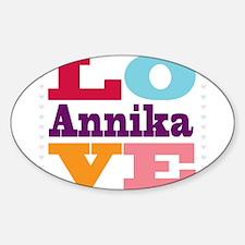 I Love Annika Decal