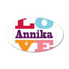 I Love Annika Wall Decal