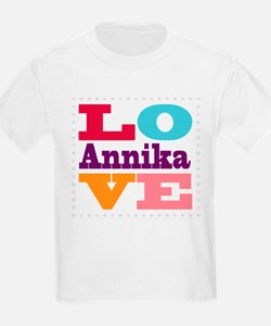 I Love Annika T-Shirt