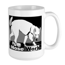 German Shepherd Nose Work Mug