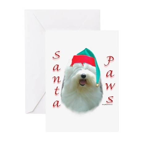 Santa Paws OES Greeting Cards (Pk of 10)