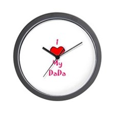 Unique Daddy's girl Wall Clock