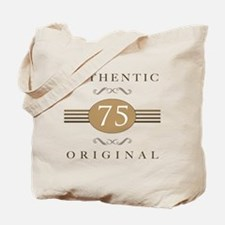 75th Birthday Authentic Tote Bag