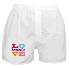 I Love Annabelle Boxer Shorts