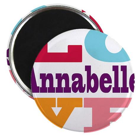 """I Love Annabelle 2.25"""" Magnet (10 pack)"""