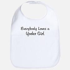 Yoder Girl Bib